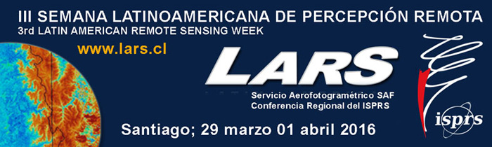 III Semana Latinoamericana de Percepción Remota – LARS 2016
