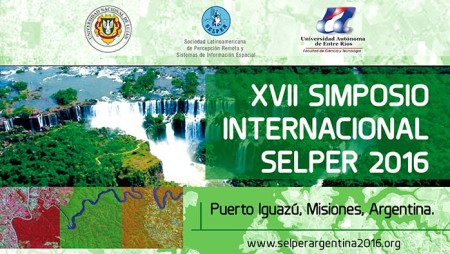 Poster XVII Simposio Internacional Selper 2016