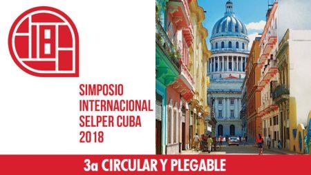 Tercera Circular y Plegable XVIII Simposio Internacional Selper 2018