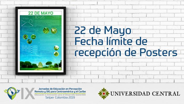 Nueva fecha recepción de Posters Concurso Estudiantes Pregrado – IX Jornadas de Educación – Selper Colombia 2019